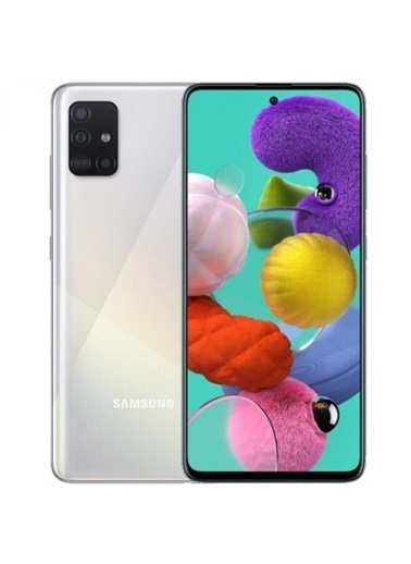 Samsung Galaxy A71 2020 128 GB (Samsung Türkiye Garantili) Prizma Gümüş Gümüş